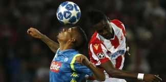 Hasil Red Star Belgrade vs Napoli, Liga Champions
