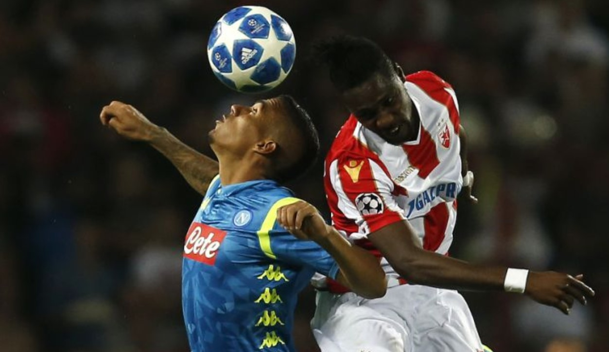 Hasil Red Star Belgrade Vs Napoli Skor Akhir 0 0
