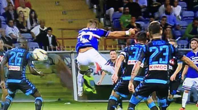 Hasil Sampdoria vs Napoli, Liga Italia Pekan ke-3