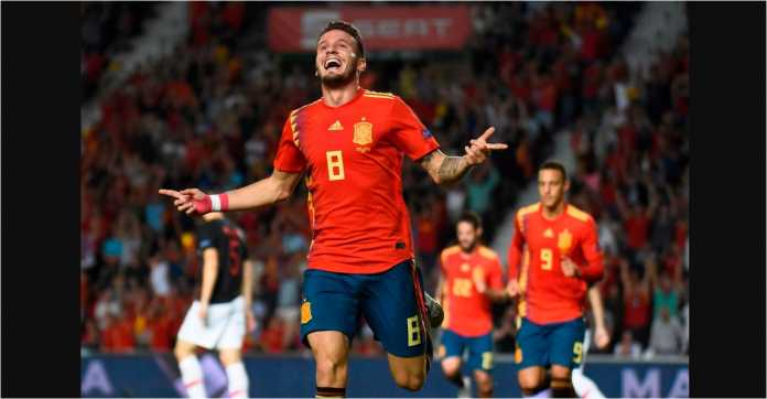 Hasil Spanyol vs Kroasia, UEFA Nations League