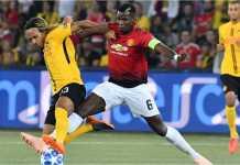 Hasil Young Boys vs Manchester United, Liga Champions