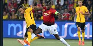 Hasil Young Boys vs Manchester United, Liga Champions