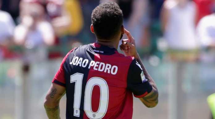 Joao Pedro, Cagliari vs AC Milan, Liga Italia