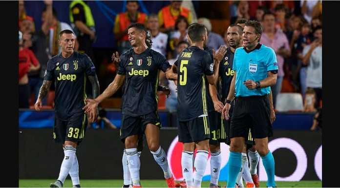 Kartu merah Cristiano Ronaldo