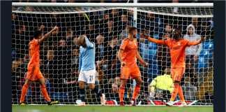 Manchester City vs Lyon, Liga Champions