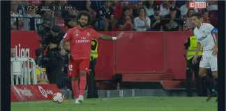 Marcelo, Sevilla vs Real Madrid