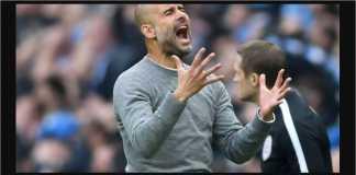 Pep Guardiola, Man CIty vs Fulham