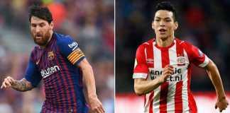 Prediksi Barcelona vs PSV Eindhoven, Liga Champions