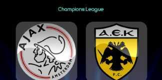 Prediksi Bola, Ajax, AEK Athens