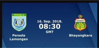 Prediksi Bola Persela Lamongan vs Bhayangkara FC, Liga 1 Indonesia