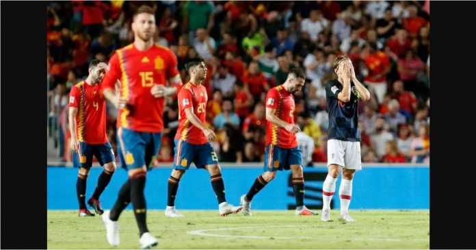 Spanyol vs Kroasia, Real Madrid