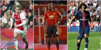 Tiga Pilihan Gelandang Barcelona: Adrien Rabiot, De Jong dan Paul Pogba