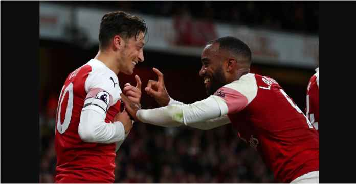 Arsenal, Mesut Ozil, Alexandre Lacazette