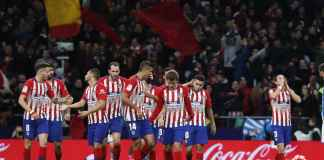 Atletico Madrid vs Real Sociedad, Liga Spanyol