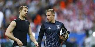 Marc-Andre ter Stegen sudah layak gantikan Manuel Neuer di Timnas Jerman.