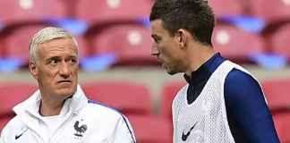 Pelatih Timnas Prancis, Didier Deschamps, mengaku terkejut dengan kritik Laurent Koscielny yang baru saja menyatakan pensiun dari Les Bleus.