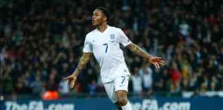 Raheem Sterling senang bisa akhiri paceklik golnya di Timnas Inggris, dalam laga kontra Spanyol awal pekan ini.