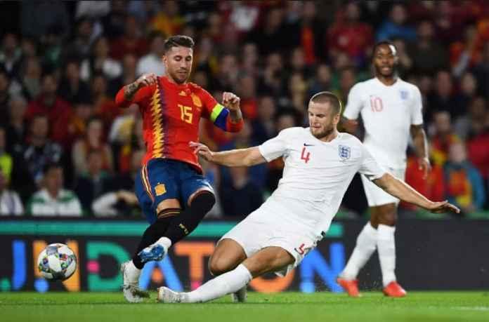 Mauricio Pochettino mengaku bangga dengan permainan punggawanya di Tottenham Hotspur, Eric Dier, yang lakukan tekel terhadap kapten Spanyol, Sergio Ramos, Selasa lalu.