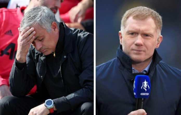 Berita Liga Champions, Manchester United, Jose Mourinho, Paul Scholes