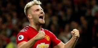 Berita Liga Inggris - Luke Shaw setuju perpanjang kontrak lima tahun di Manchester United.