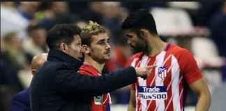 Diego Costa tuntut kenaikan gaji di Atletico Madrid setelah ia cemburu pada gaji yang dikantongi Antoine Griezmann, dan ancam hengkang ke China.