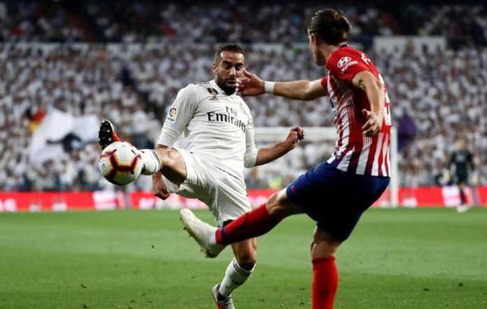 Berita Liga Spanyol, Real Madrid, Barcelona, Dani Carvajal