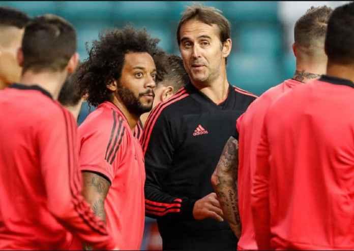 Marcelo berharap pelatih Real Madrid saat ini, Julen Lopetegui, tak bernasib sama dengan pelatih terdahulu, Rafa Benitez, yang dipecat dari Bernabeu akibat turunnya prestasi Los Blancos.