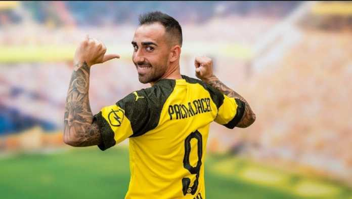 Berita Transfer - Borussia Dortmund segera permanenkan kontrak pemain pinjamannya dari Barcelona, Paco Alcacer.
