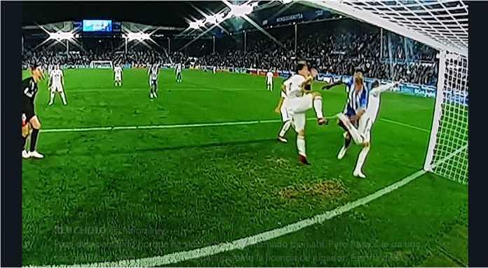 Gol Manu Garcia, Alaves vs Real Madrid