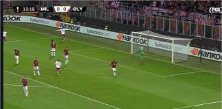 Hasil AC Milan vs Olympiakos, Liga Europa