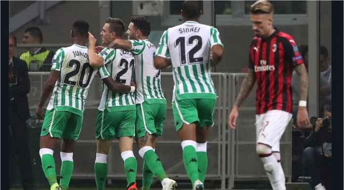 Hasil AC Milan vs Real Betis, Liga Europa