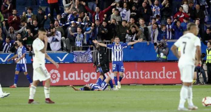 Hasil Alaves vs Real Madrid, Liga Spanyol