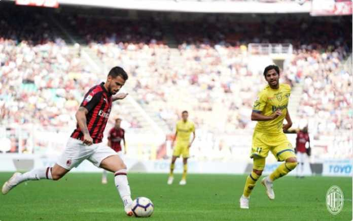 Hasil Bola, AC Milan, Chievo