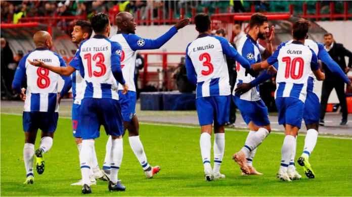 Hasil Lokomotiv Moscow vs FC Porto, Liga Champions