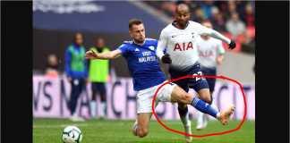 Joe Ralls, Tottenham vs Cardiff
