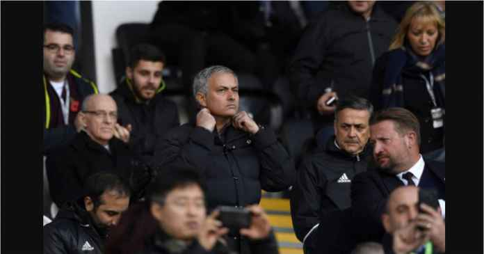Jose Mourinho diam-diam menyelinap di antara penonton sebuah pertandingan Liga C, atau divisi ketiga UEFA Nations League, Kamis dinihari