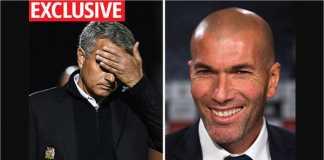 Jose Mourinho, Zinedine Zidane