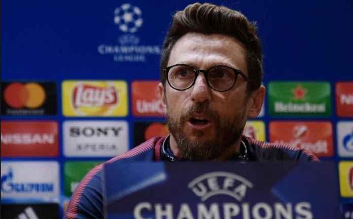 Liga Champions, AS Roma, CSKA Moscow,Eusebio Di Francesco