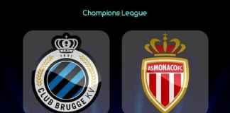 Liga Champions, Club Brugge, AS Monaco