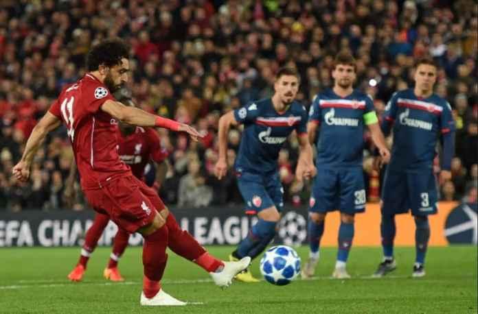 Liga Champions, Liverpool, Red Star Belgrade, Mohamed Salah