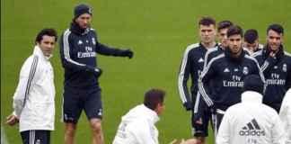 Liga Internasional, Real Madrid, Melilla,Santiago Solari