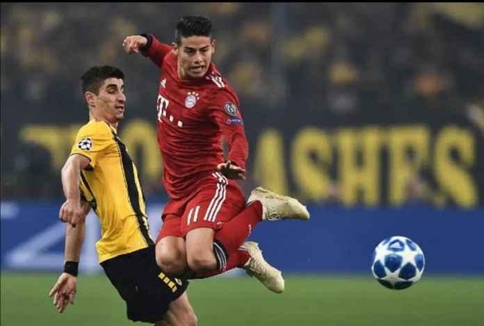 Liga Italia, Bayern Munchen, Juventus, James Rodriguez