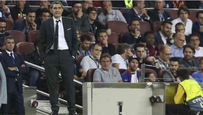 Liga Spanyol, Barcelona, Ernesto Valverde