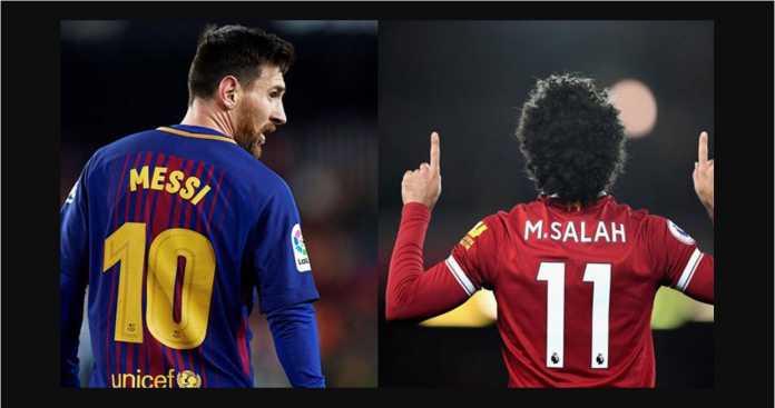 Suara untuk Lionel Messi mengalahkan Mohamed Salah di polling France Football