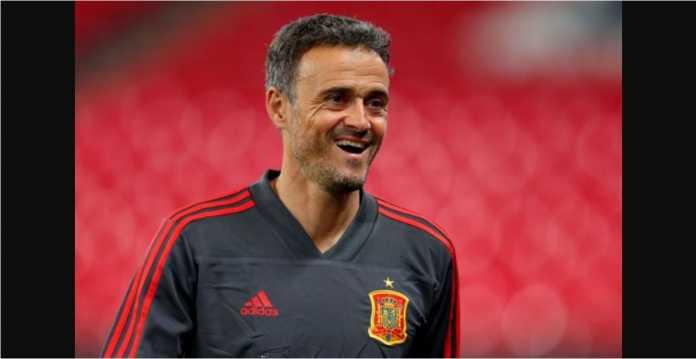 Luis Enrique, Timnas Spanyol