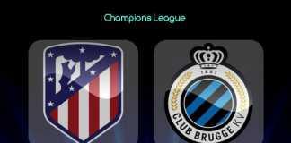 Prediksi Bola, Atletico Madrid, Club Brugge