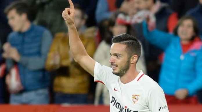 Sevilla vs Huesca, Liga Spanyol, Pablo Sarabia