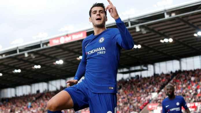 Alvaro Morata sukses memberikan bantuan besar bagi Chelsea dalam urusan gol, seperti yang diakui oleh Maurizio Sarri