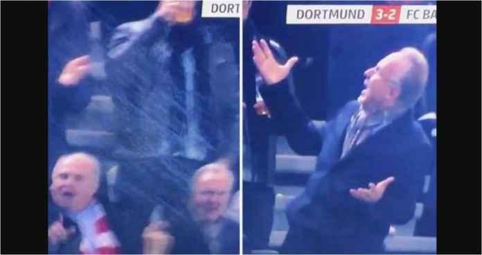 Kasihan Petinggi Bayern Munchen Ini, Sudah Kalah 3-2 Diguyur Bir Pula!