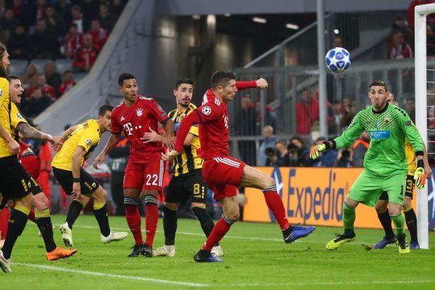 Bayern Munchen vs AEK Athens
